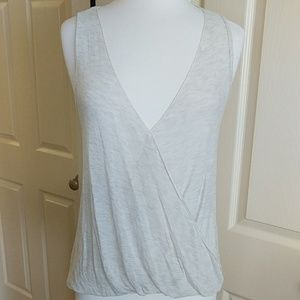 En Creme Surplice Tank Top